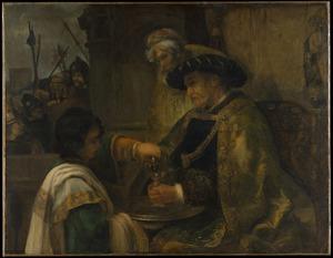 Pilatus was zijn handen