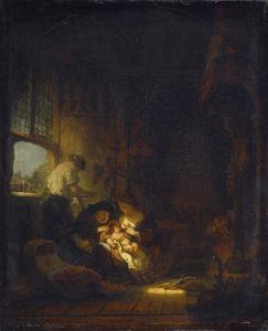 De heilige Familie met Heilige Anna