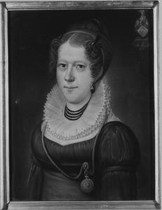 Portret van Antonia Ernestina Aleidis Ludovica van Hugenpoth tot Aerdt (1791-1875)