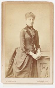 Portret van Eugenie Kempes
