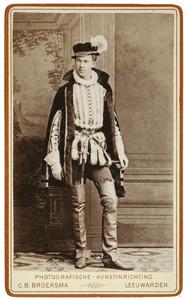 Portret van Wibo Bernhardus Buma (1861-1945) als Heer van Becelaer