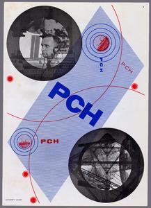 Brochure voor Scheveningen Radio (PCH), 1928-1929