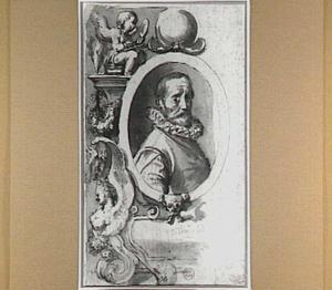 Portret van de kunstenaar Hans Bol (1534-1593)
