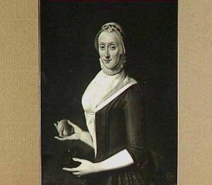Portret van Isabella Gijsberts, echtgenote van Tjoerd van der Walle (1716-1769)