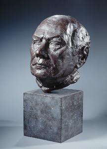 Portret van Johannes Marten den Uyl (1919-1987)