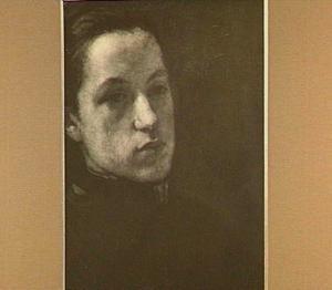 Impressie (portret van de zuster van de schilder, Clara Veth)