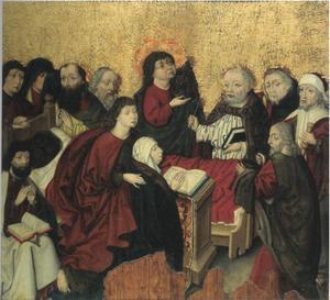 De dood van Maria (het laatste gebed van Maria)