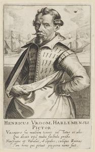 Portret van Hendrik Cornelisz. Vroom (1562/163- 1640)