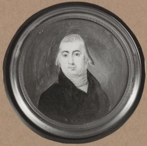 Portret van een man, waarschijnlijk Johan Assueer Becius (1768-1823)