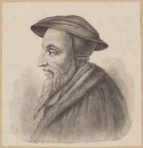 Portret van Johannes Calvijn (1509-1564)