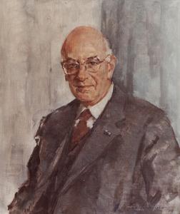 Portret van Robert Feenstra (1920- )