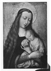 Maria met slapend kind