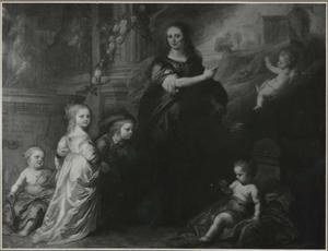 Portret van Josina Schade van Westrum, echtgenote van Otto Copes van Vorden
