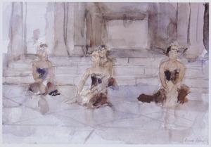 Serimpi danseressen