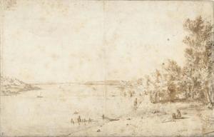 De Hertog van Bracciano bij het Lago di Bracciano