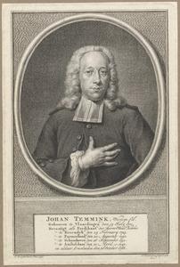 Portret van Johannes Temmink (1701-1768)