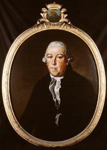 Portret van Arent Jan van Eybergen (1739-1803)