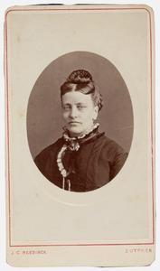 Portret van Cornelia Hocke van Weel (1834-1909)