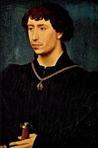 Portret van Karel de Stoute, hertog van Bourgondië (1433-1477)