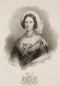 Portret van Sophia Wilhelmina Petronella van Heeckeren (1772-1847)
