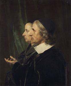 Dubbelportret van Salomon de Bray (1597-1664) en Anna Westerbaen (....-1663)