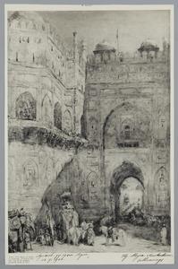 Binnenplaats van het paleis van de Emir van Bohara