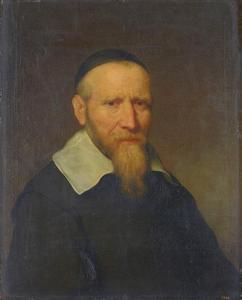 Portret van een onbekende oude man