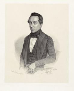 Portret van Benjamin Frederik Matthes (1818-1908)