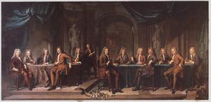 Leden van de Haagse magistraat, 1717