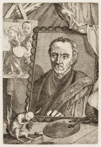 Portret van een man genaamd Rijckaert Aertsz. (1482-1577)