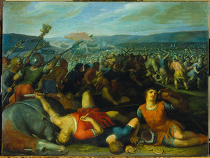 De Bataven verslaan de Romeinen bij de Rijn