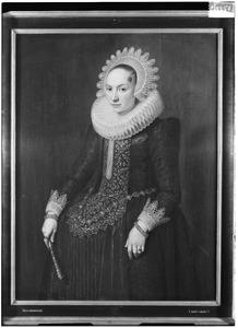 Portret van Maria de Bye (1597-1622)