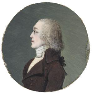 Portret van Isaac Jansz. Cordes (1762-1842)