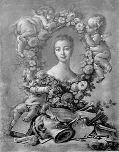 Madame de Pompadour als kunstminnares