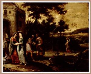 De ontmoeting tussen Maria en Elisabeth (Lucas 1:39-56)