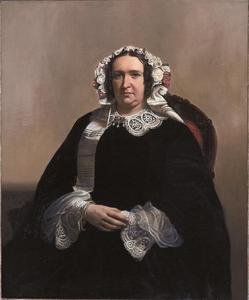 Portret van Anna Geertruida Cornelia van de Paauw (1804-1881)