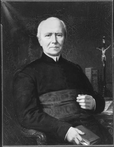 Portret van pastoor Franciscus Theodorus Frankemölle (1807-1888)