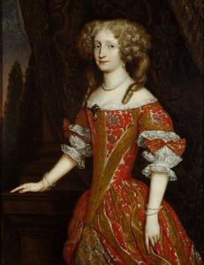 Portret van Eleonore Magdalena Theresia van de Palts-Neuburg (1655-1720), keizerin van het Heilige Roomse Rijk
