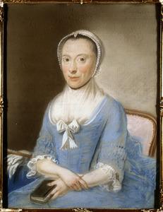 Portret van Machtelina Henrietta le Leu de Wilhem (1730-1797)