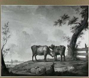 Landschap met vee