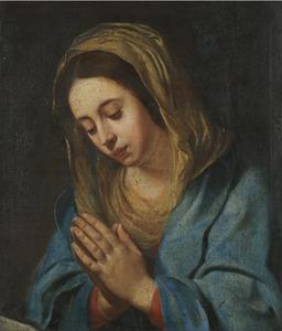 De Madonna in gebed (fragment?)