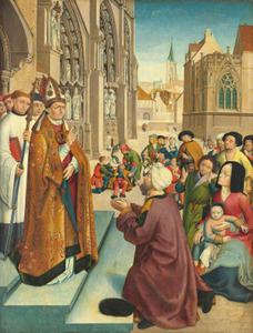 Taferelen uit het leven van een heilige bisschop