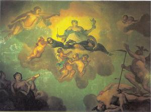 Allegorie op de triomf van Catherina