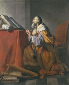 David biddend tot de Heer