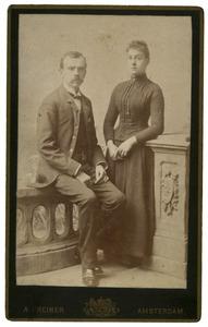 Portret van Henri Logeman (1862-1936) en Dina Samuela van der Willigen (1864-1925)