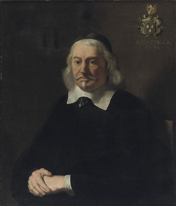 Portret van Abraham Velters (1603-1690)