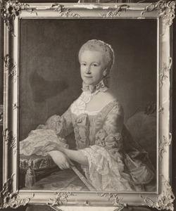 Portret van Johanna Muntz (1731-1797)