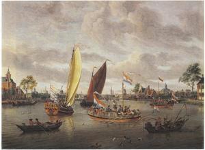 Amsterdam, de Amstel gezien vanaf de Buiten Amstel