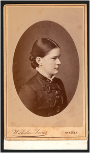 Portret van Julia Blijdenstein (1866-1928)