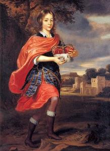 Portret van Karl Emil keurprins van Brandenburg (1655-1674)